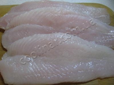 Промываем рыбку